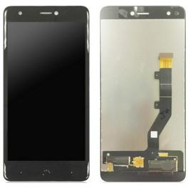 Bq Acuaris X, X Pro, Display Lcd con cristal digitalizador negro