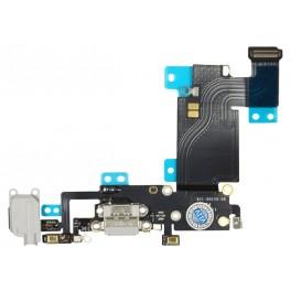 Iphone 6s Plus Flex carga con microfono y componentes Gris
