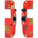 Htc Desire 500 Placa con Microfono conector de carga micro usb y componentes