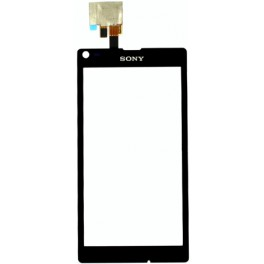 C2103 C2104 C2105 S36H Sony Xperia L Cristal Digitalizador Negro
