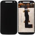 XT1524, Display Lcd con Cristal Digitalizador Motorola Moto E2, Negro